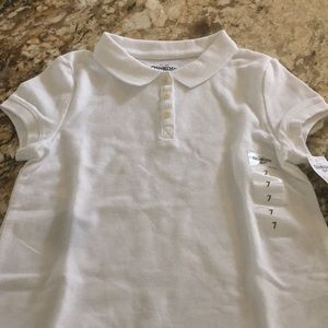Other - Osh Kosh NWT white girls Polo size7